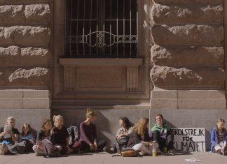 Greta Thunbergs uppmärksammade kamp för klimatet dokumenteras i Kids vs klimatet. Fotograf/Källa: Nathan Grossman