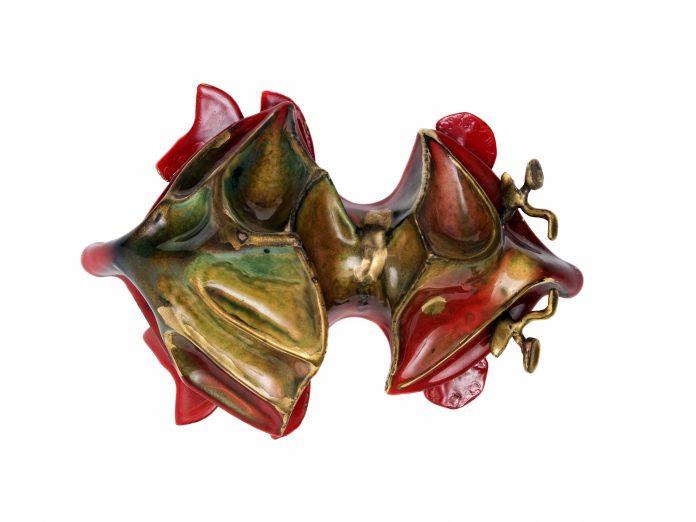 Guldbaggen, designad av konstnären Karl Axel Pehrson. Fotograf/Källa: Johan Bergmark