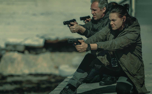 Ny thrillerserie utlovar spänning. Foto: Pressbild