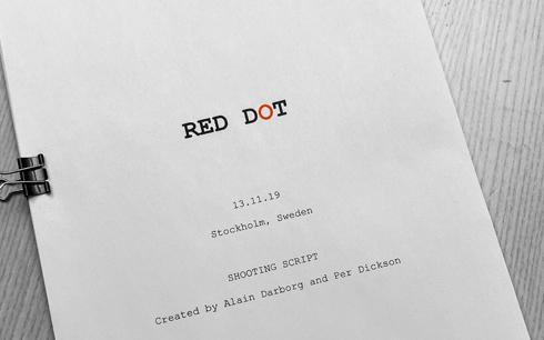 Första svenska Netflix-filmen, action-thrillern Red Dot.