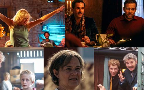 En del av mitt hjärta, Jag kommer hem igen till jul, Sune – Best man, Britt-Marie var här och Hasse & Tage – en kärlekshistoria är de fem filmer som är nominerade till Guldbaggens publikpris i första röstningsomgången. Fotograf/Källa: SF Studios, Nordisk Film