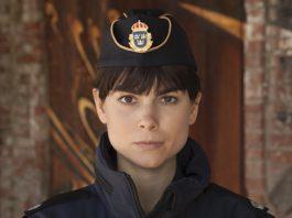 """Karin Franz Körlof i rollen som Katarina Huss i den nya serien """"Huss"""". Pressbild. Foto: Yellowbird/Peo Olsson"""