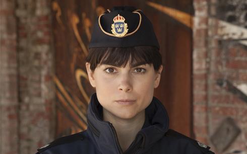 Karin Franz Körlof i rollen som Katarina Huss i den nya serien