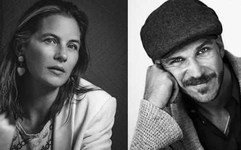 Lisa Carlehed och Gustaf Skarsgård är Utvandrarna