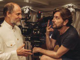 Woody Harrelson & Ruben Östlund. Photo credit: Tobias Henriksson. Pressmeddelande från SF Studios.