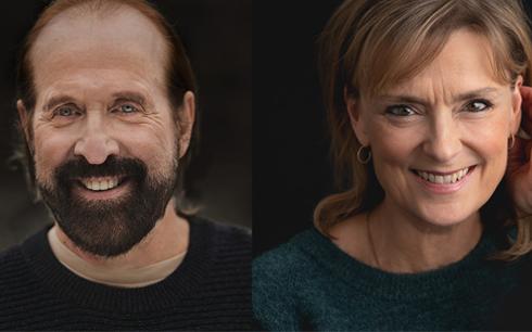 Peter Stormare och Marie Richardson Foto : Prolounge och Anders Nicander. Pressbild från SF Studios.