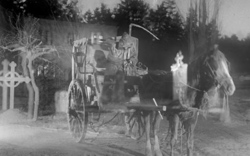 Körkarlen hade premiär för 100 år sedan på nyårsdagen. Fotograf/Källa: © AB Svensk Filmindustri (1921) Foto: Julius Jaenzon