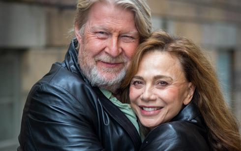 Lena Olin och Rolf Lassgård i Andra Akten Fotograf: Martin Källqvist. Pressbild från Nordisk Film.
