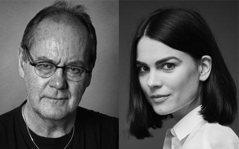 Peter Haber och Karin Franz Körlof i Andreas Öhmans nästa långfilm Fotograf: Peter Seth och Klara G. Pressbild från SF Studios