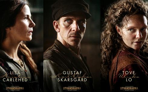 Lisa Carlehed, Gustaf Skarsgård och Tove Lo Pressbild: SF Studios